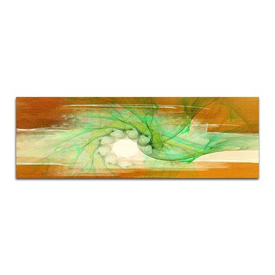 PaulSinusArt Enigma Panorama Abstrakt 298 Painting Print on Canvas