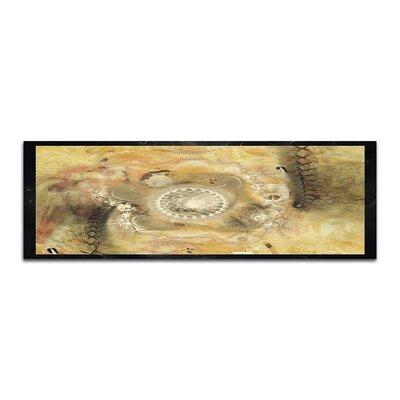 PaulSinusArt Enigma Panorama Abstrakt 441 Painting Print on Canvas