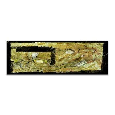 PaulSinusArt Enigma Panorama Abstrakt 442 Painting Print on Canvas