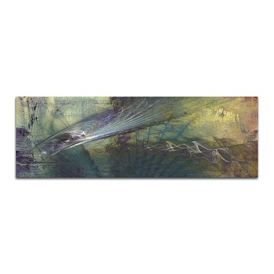 PaulSinusArt Enigma Panorama Abstrakt 444 Painting Print on Canvas