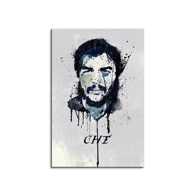 PaulSinusArt Enigma Che Guevara Painting Print on Canvas