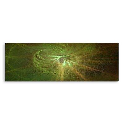 PaulSinusArt Enigma Panorama Abstrakt 1122 Painting Print on Canvas