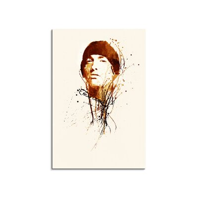 PaulSinusArt Enigma Eminem Painting Print on Canvas
