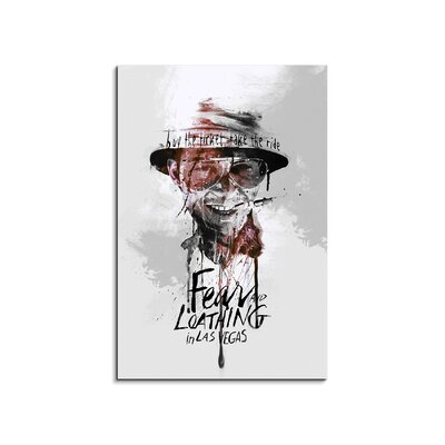 PaulSinusArt Enigma Fear and Loathing in Las Vegas Painting Print on Canvas