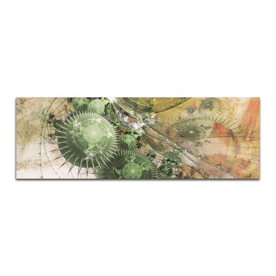 PaulSinusArt Enigma Panorama Abstrakt 479 Painting Print on Canvas