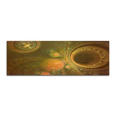 PaulSinusArt Enigma Panorama Abstrakt 485 Painting Print on Canvas