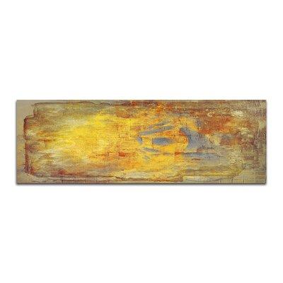 PaulSinusArt Enigma Panorama Abstrakt 488 Painting Print on Canvas