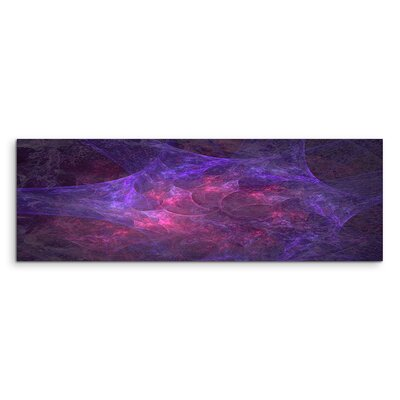 PaulSinusArt Enigma Panorama Abstrakt 1124 Painting Print on Canvas