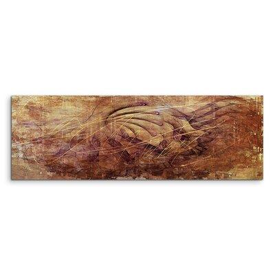 PaulSinusArt Enigma Panorama Abstrakt 1133 Painting Print on Canvas