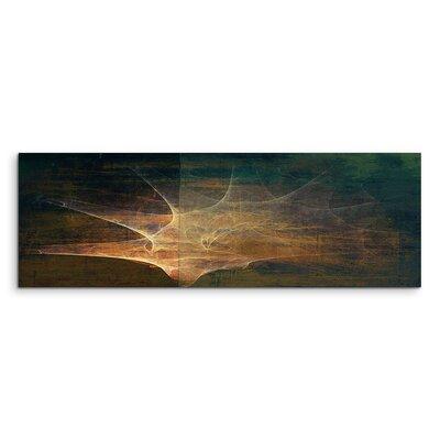 PaulSinusArt Enigma Panorama Abstrakt 1137 Painting Print on Canvas