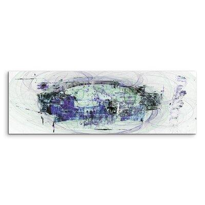 PaulSinusArt Enigma Panorama Abstrakt 1436 Painting Print on Canvas