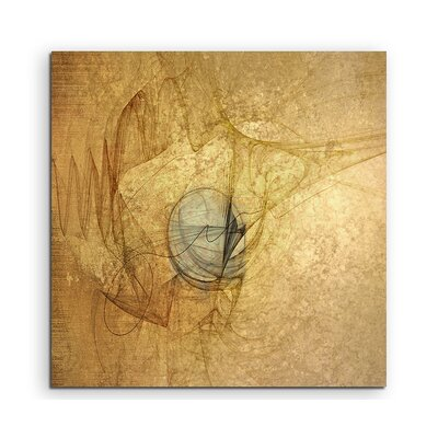 PaulSinusArt Enigma Abstrakt 1073 Painting Print on Canvas