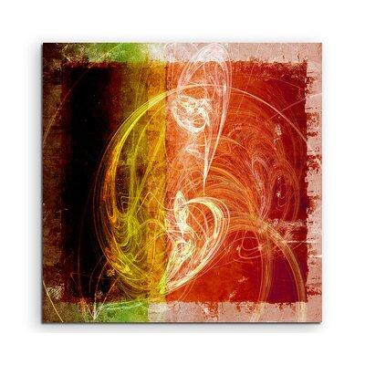 PaulSinusArt Enigma Abstrakt 1075 Painting Print on Canvas