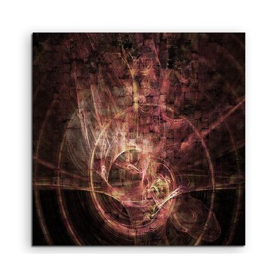 PaulSinusArt Enigma Abstract 1077 Photographic Print on Canvas