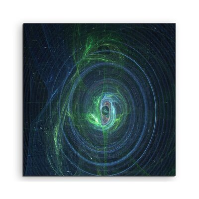 PaulSinusArt Enigma Abstract 1081 Photographic Print on Canvas