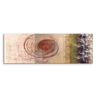 PaulSinusArt Enigma Panorama Abstrakt 1364 Painting Print on Canvas