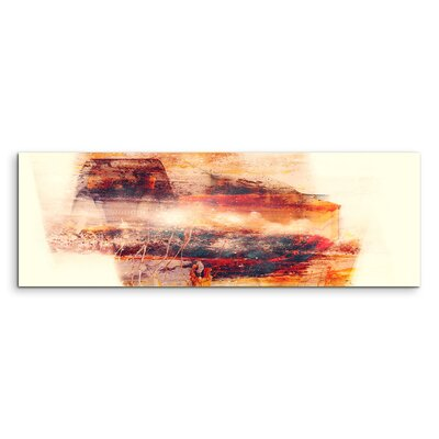 PaulSinusArt Enigma Panorama Abstrakt 1365 Painting Print on Canvas