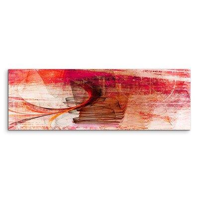 PaulSinusArt Enigma Panorama Abstrakt 1339 Painting Print on Canvas