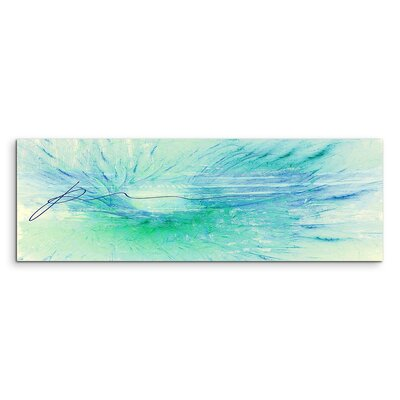 PaulSinusArt Enigma Panorama Abstrakt 1170 Painting Print on Canvas