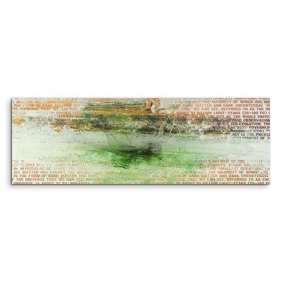 PaulSinusArt Enigma Panorama Abstrakt 1175 Painting Print on Canvas