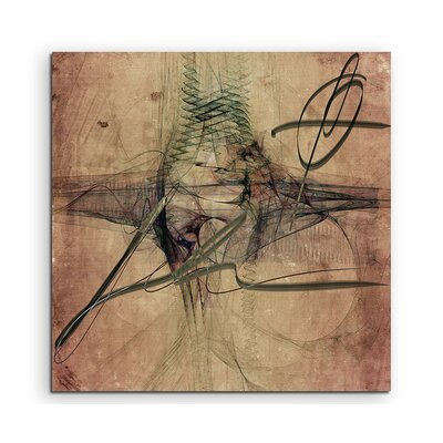 PaulSinusArt Enigma Abstract 1085 Photographic Print on Canvas