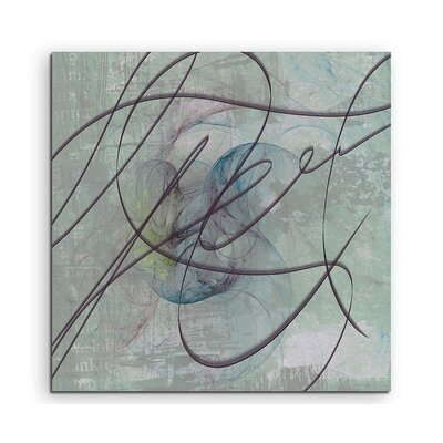 PaulSinusArt Enigma Abstract 1086 Photographic Print on Canvas