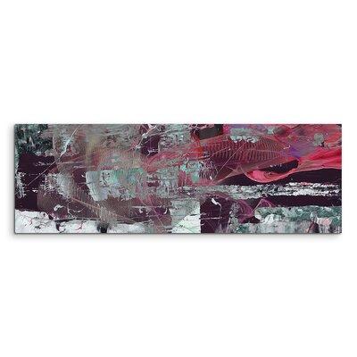 PaulSinusArt Enigma Panorama Abstrakt 1378 Painting Print on Canvas