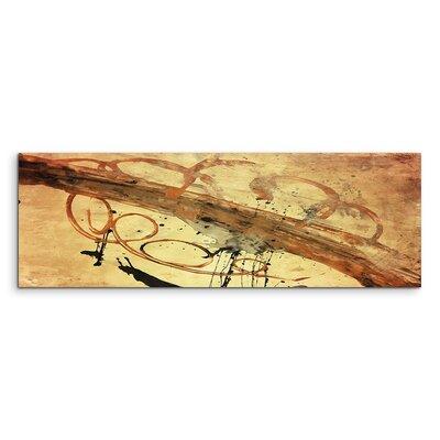 PaulSinusArt Enigma Panorama Abstrakt 646 Painting Print on Canvas