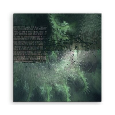 PaulSinusArt Enigma Abstract 1215 Photographic Print on Canvas