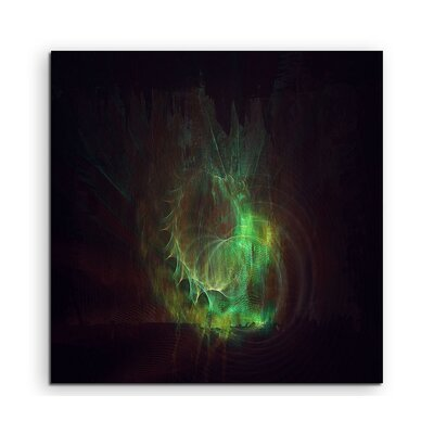 PaulSinusArt Enigma Abstract 1216 Photographic Print on Canvas