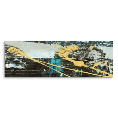 PaulSinusArt Enigma Panorama Abstrakt 529 Painting Print on Canvas