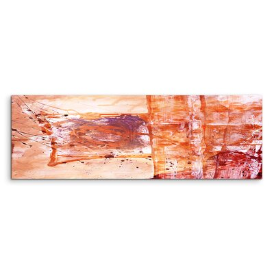 PaulSinusArt Enigma Panorama Abstrakt 657 Painting Print on Canvas