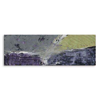 PaulSinusArt Enigma Panorama Abstrakt 658 Painting Print on Canvas