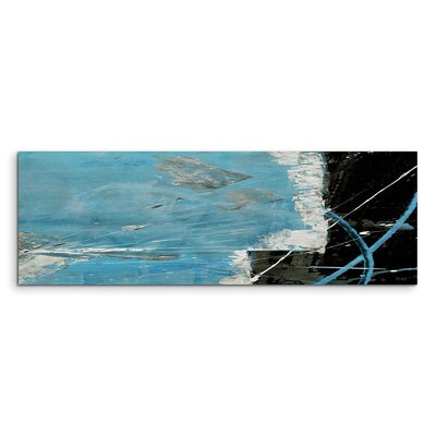 PaulSinusArt Enigma Panorama Abstrakt 660 Painting Print on Canvas