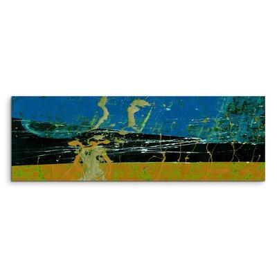 PaulSinusArt Enigma Panorama Abstrakt 662 Painting Print on Canvas