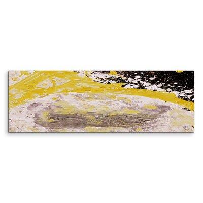 PaulSinusArt Enigma Panorama Abstrakt 665 Painting Print on Canvas