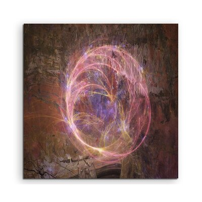PaulSinusArt Enigma Abstract 1228 Photographic Print on Canvas