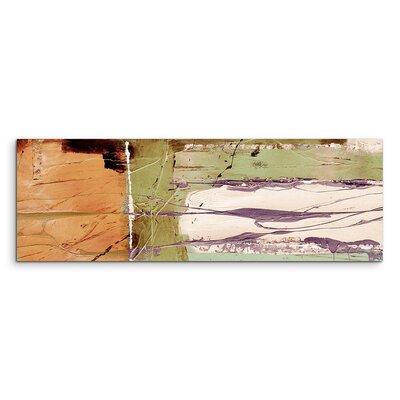 PaulSinusArt Enigma Panorama Abstrakt 533 Painting Print on Canvas