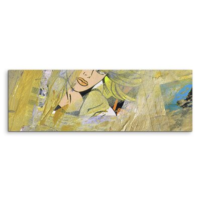 PaulSinusArt Enigma Panorama Abstrakt 537 Painting Print on Canvas