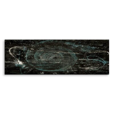 PaulSinusArt Enigma Panorama Abstrakt 540 Painting Print on Canvas