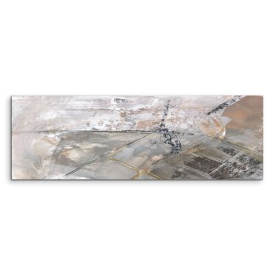 PaulSinusArt Enigma Panorama Abstrakt 666 Painting Print on Canvas
