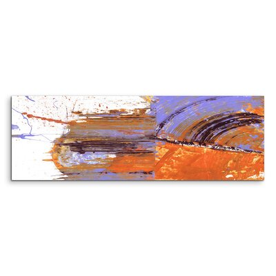 PaulSinusArt Enigma Panorama Abstrakt 669 Painting Print on Canvas