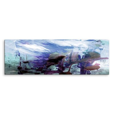 PaulSinusArt Enigma Panorama Abstrakt 838 Painting Print on Canvas