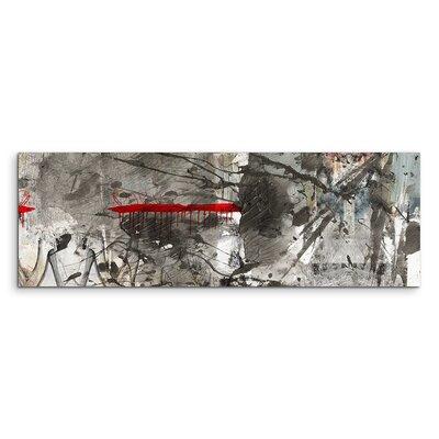 PaulSinusArt Enigma Panorama Abstrakt 839 Painting Print on Canvas