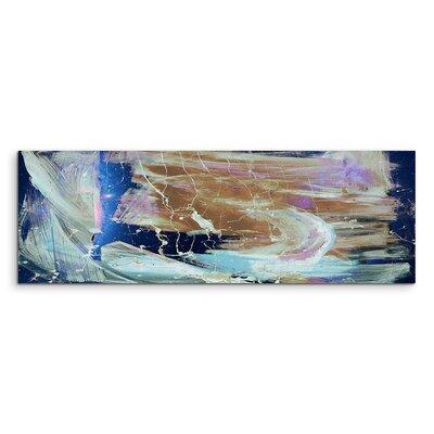 PaulSinusArt Enigma Panorama Abstrakt 840 Painting Print on Canvas