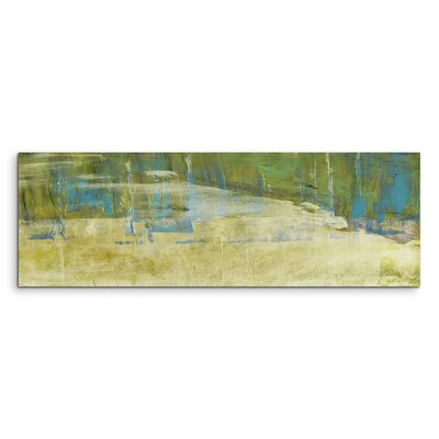 PaulSinusArt Enigma Panorama Abstrakt 912 Painting Print on Canvas