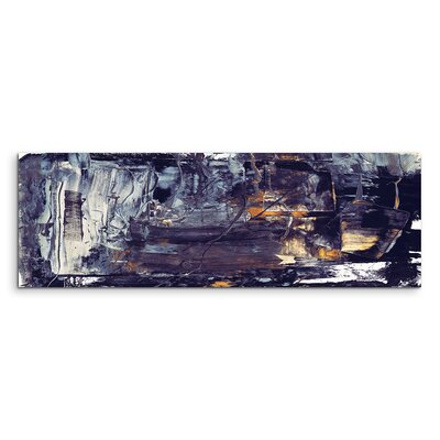 PaulSinusArt Enigma Panorama Abstrakt 915 Painting Print on Canvas
