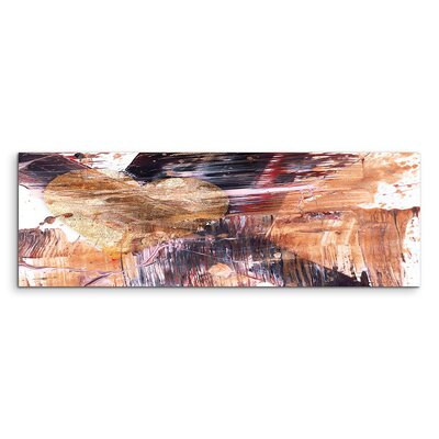 PaulSinusArt Enigma Panorama Abstrakt 545 Painting Print on Canvas