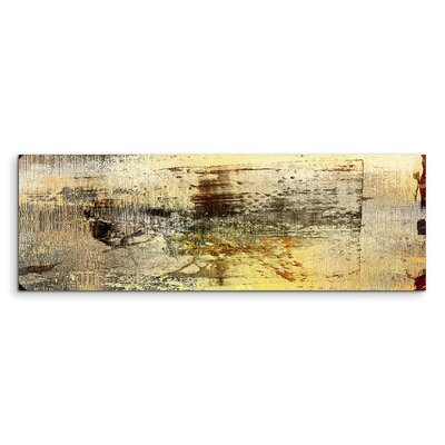 PaulSinusArt Enigma Panorama Abstrakt 917 Painting Print on Canvas