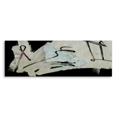 PaulSinusArt Enigma Panorama Abstrakt 546 Painting Print on Canvas
